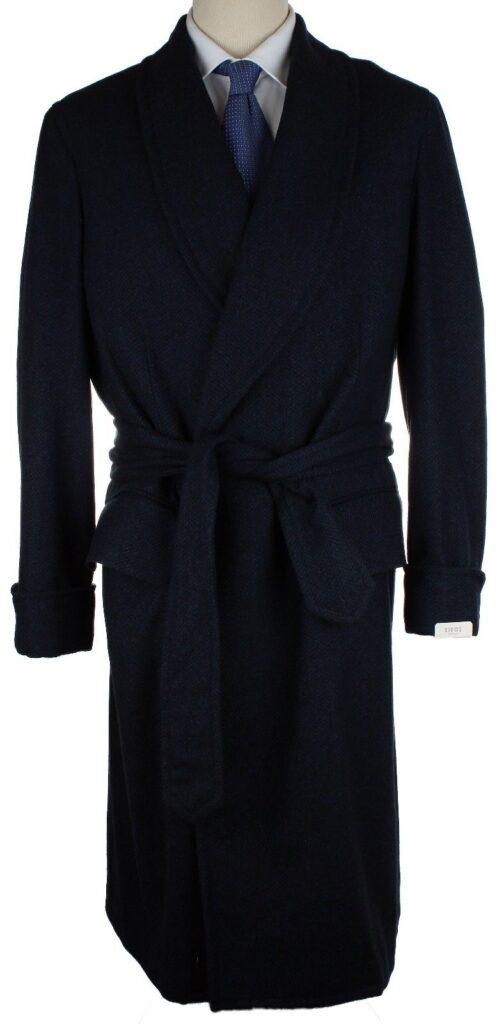 Belted Shawl Lapel Robe coat, $299, size 50EU/40US