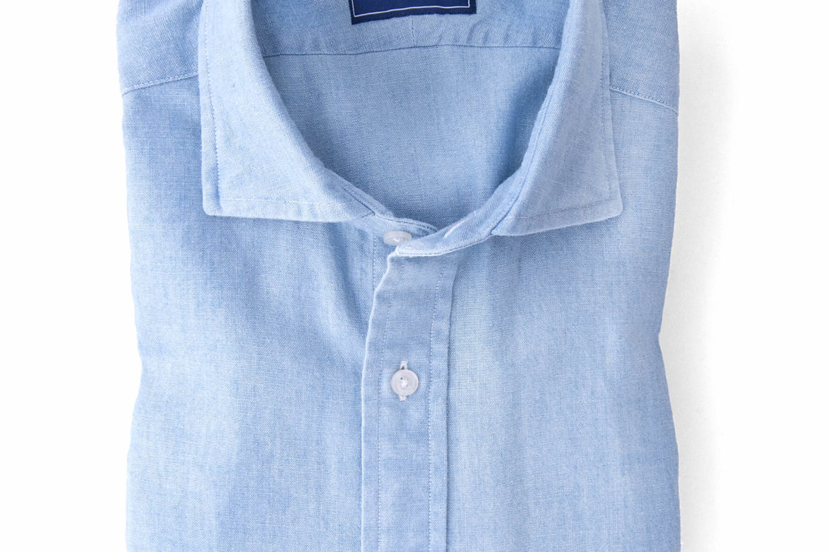 21f6c3cde9c Proper Cloth s Washed Chambray Shirts Are Back and I m Buying One –  Menswear Musings